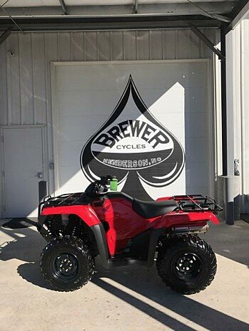 2018 Honda FourTrax Rancher for sale 200601195