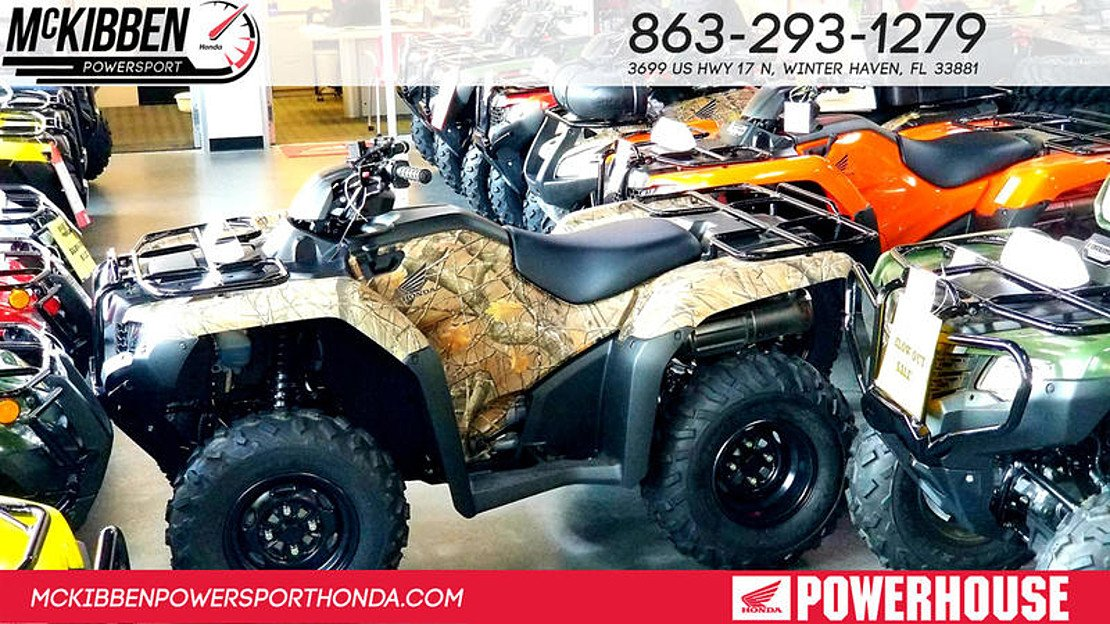 2018 Honda FourTrax Rancher for sale 200624709