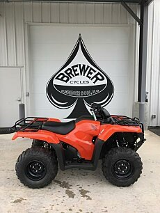 2018 Honda FourTrax Rancher for sale 200578251