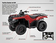 2018 Honda FourTrax Rancher for sale 200641375