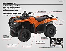 2018 Honda FourTrax Rancher for sale 200641433
