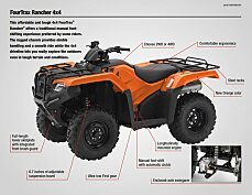 2018 Honda FourTrax Rancher for sale 200641475