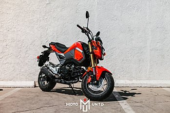 2018 Honda Grom ABS for sale 200502603