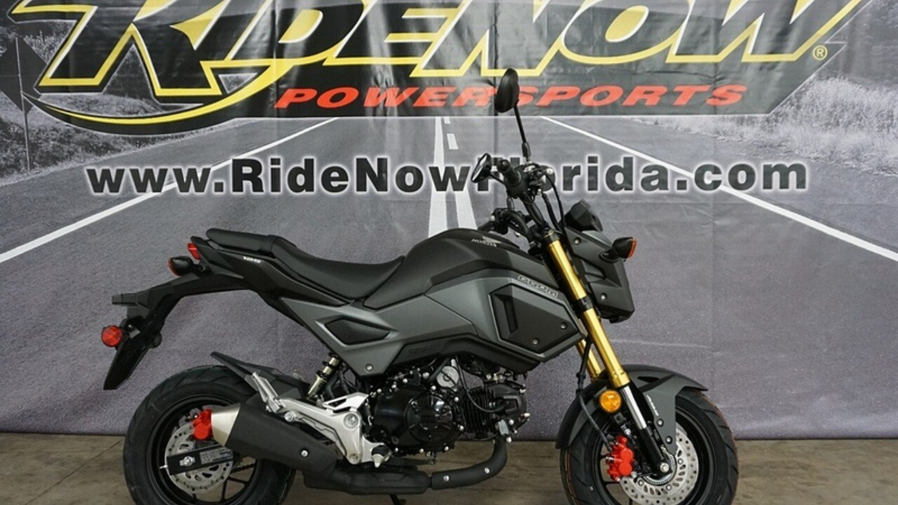 2018 Honda Grom ABS for sale 200570004