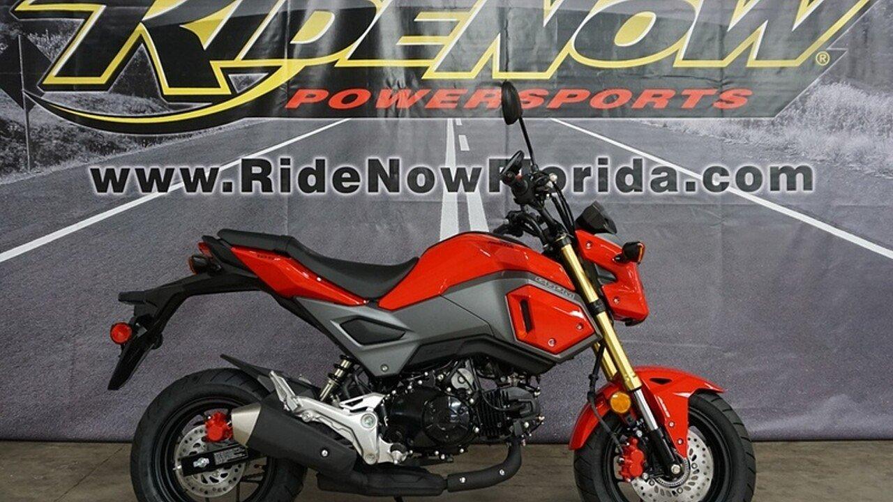 2018 Honda Grom for sale 200570035