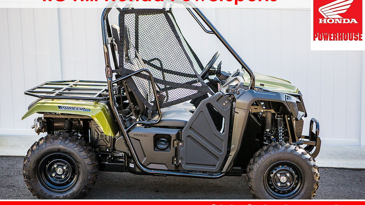 2018 Honda Pioneer 500 for sale 200569087