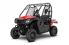 2018 Honda Pioneer 500 for sale 200505764
