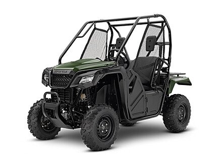 2018 Honda Pioneer 500 for sale 200604804