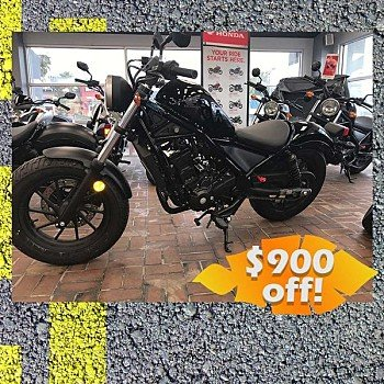 2018 Honda Rebel 300 for sale 200545577