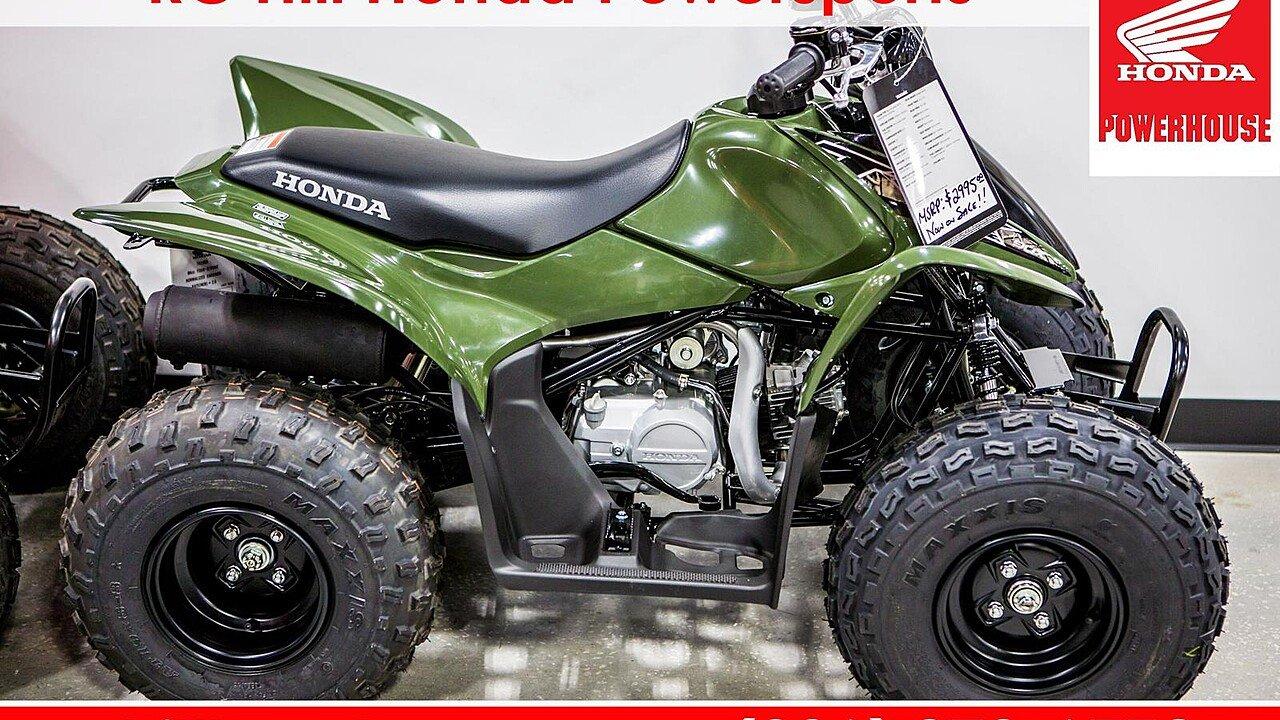 2018 Honda TRX90X for sale 200532389