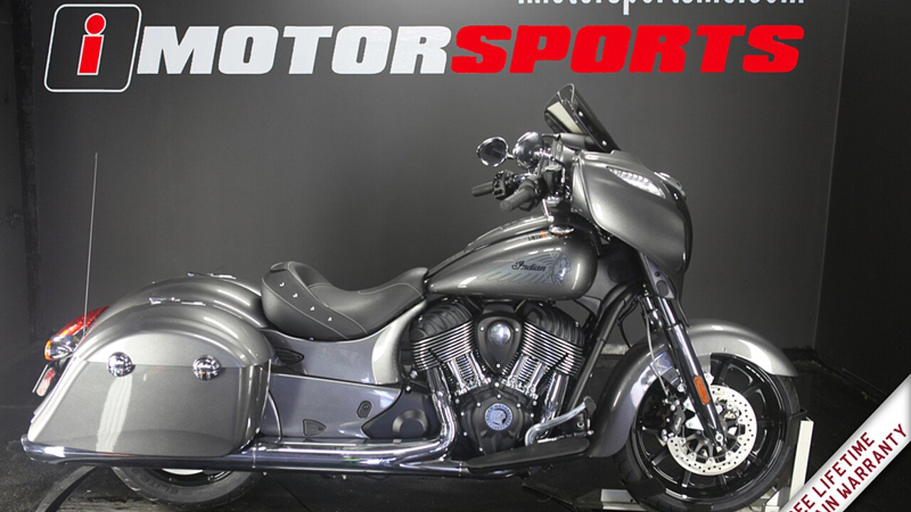 2018 Indian Chieftain Standard w/ ABS for sale 200609037