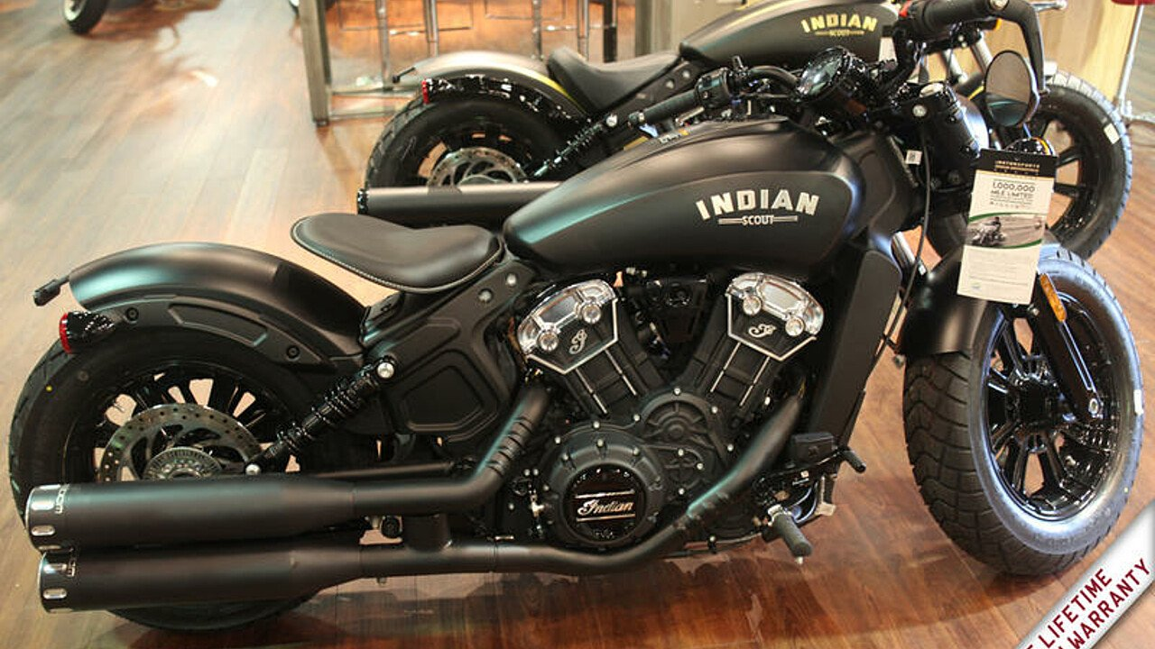 2018 Indian Scout Bobber ABS for sale 200609035