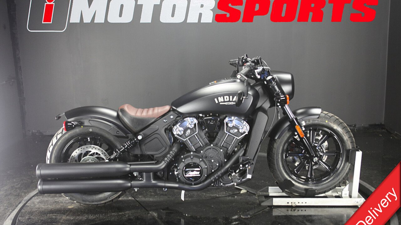 2018 Indian Scout Bobber ABS for sale 200609130