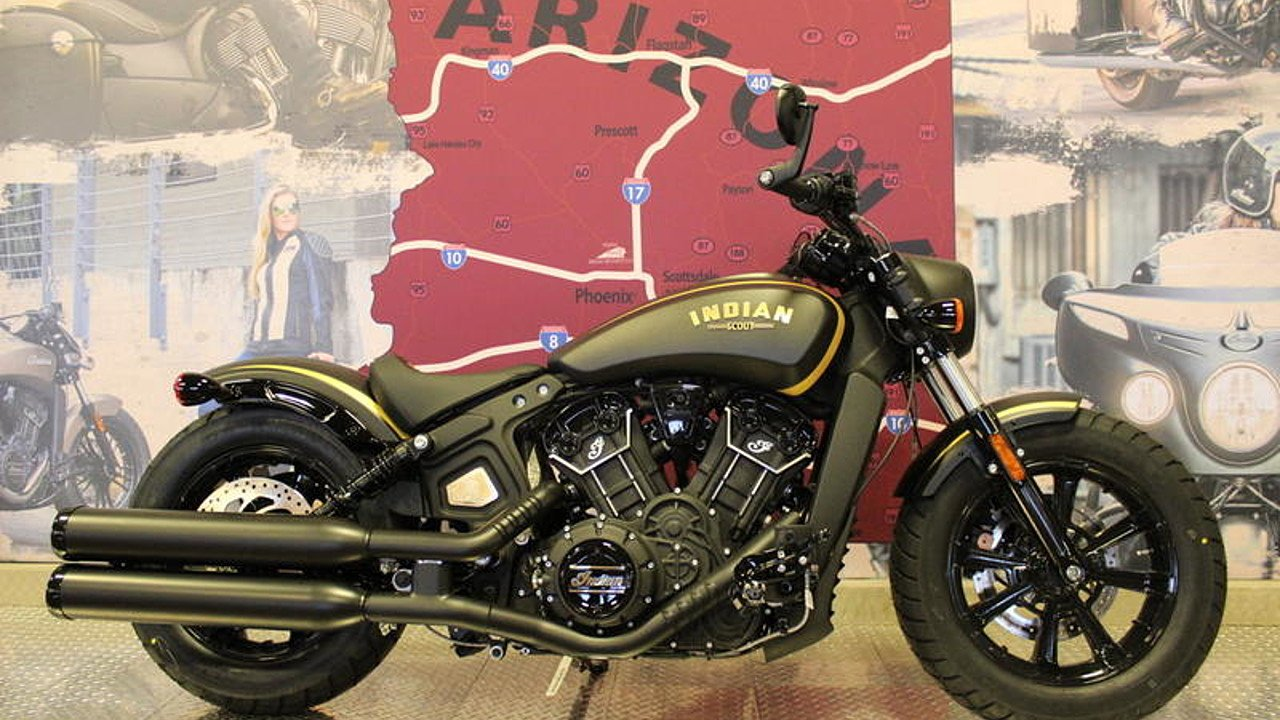 2018 Indian Scout Jack Daniel's Limited Edition for sale 200621252