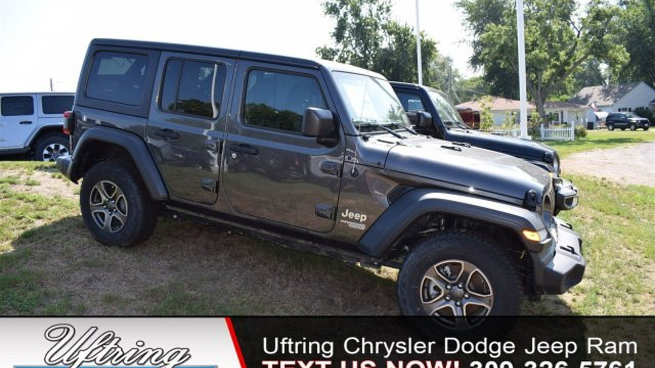 2018 Jeep Wrangler 4WD Unlimited Sport for sale 100989325
