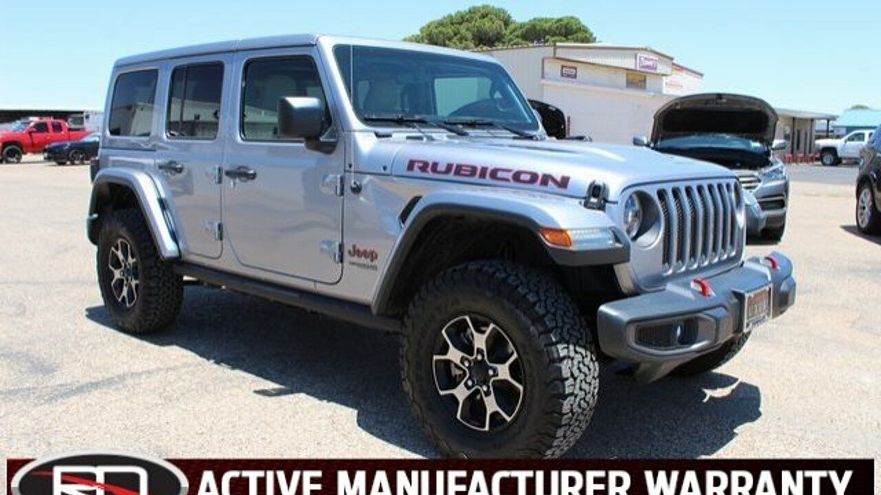 2018 Jeep Wrangler 4WD Unlimited Rubicon for sale 101008606