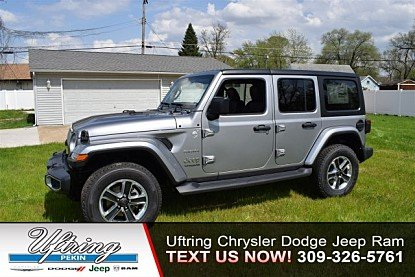 2018 Jeep Wrangler 4WD Unlimited Sahara for sale 100978852
