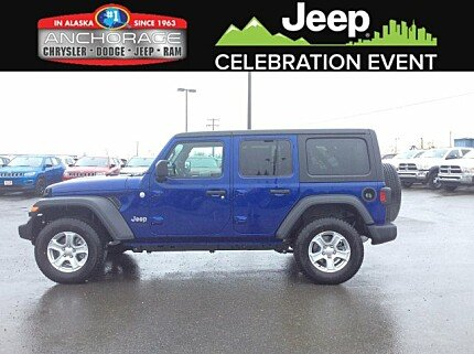 2018 Jeep Wrangler 4WD Unlimited Sport for sale 100979223
