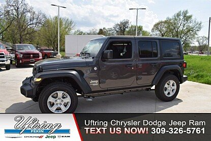 2018 Jeep Wrangler 4WD Unlimited Sport for sale 100982117