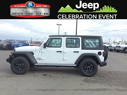 2018 Jeep Wrangler 4WD Unlimited Sport for sale 100989906