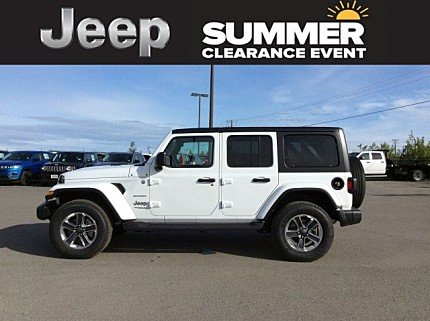 2018 Jeep Wrangler 4WD Unlimited Sahara for sale 100999193