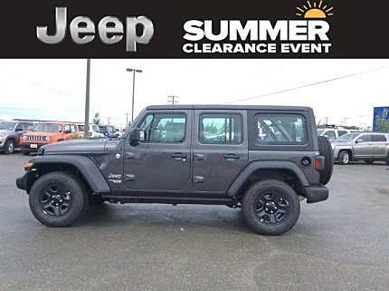 2018 Jeep Wrangler 4WD Unlimited Sport for sale 100999194