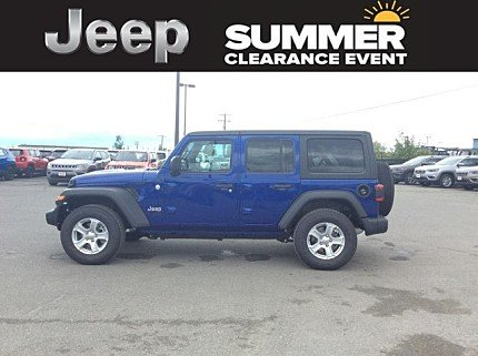 2018 Jeep Wrangler 4WD Unlimited Sport for sale 100999429