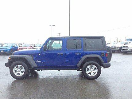 2018 Jeep Wrangler 4WD Unlimited Sport for sale 101008903