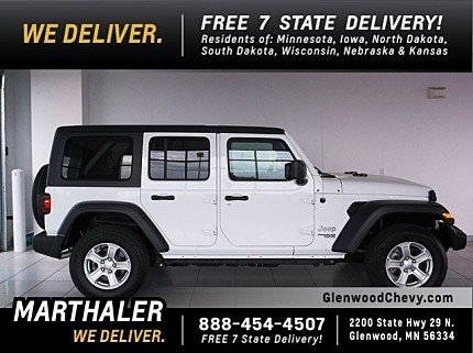 2018 Jeep Wrangler 4WD Unlimited Sport for sale 101013377