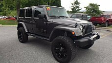 2018 Jeep Wrangler JK 4WD Unlimited Sahara for sale 101016837