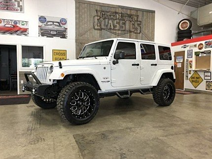 2018 Jeep Wrangler JK 4WD Unlimited Sahara for sale 101019293