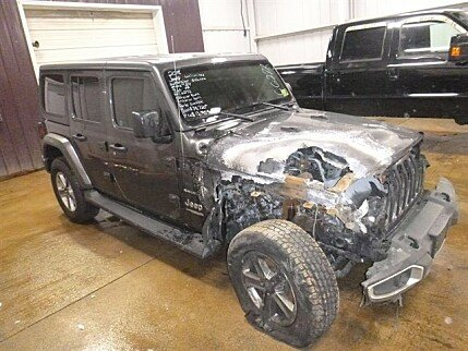 2018 Jeep Wrangler 4WD Unlimited Sahara for sale 101036786