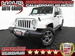 2018 Jeep Wrangler JK 4WD Unlimited Sahara for sale 101050982