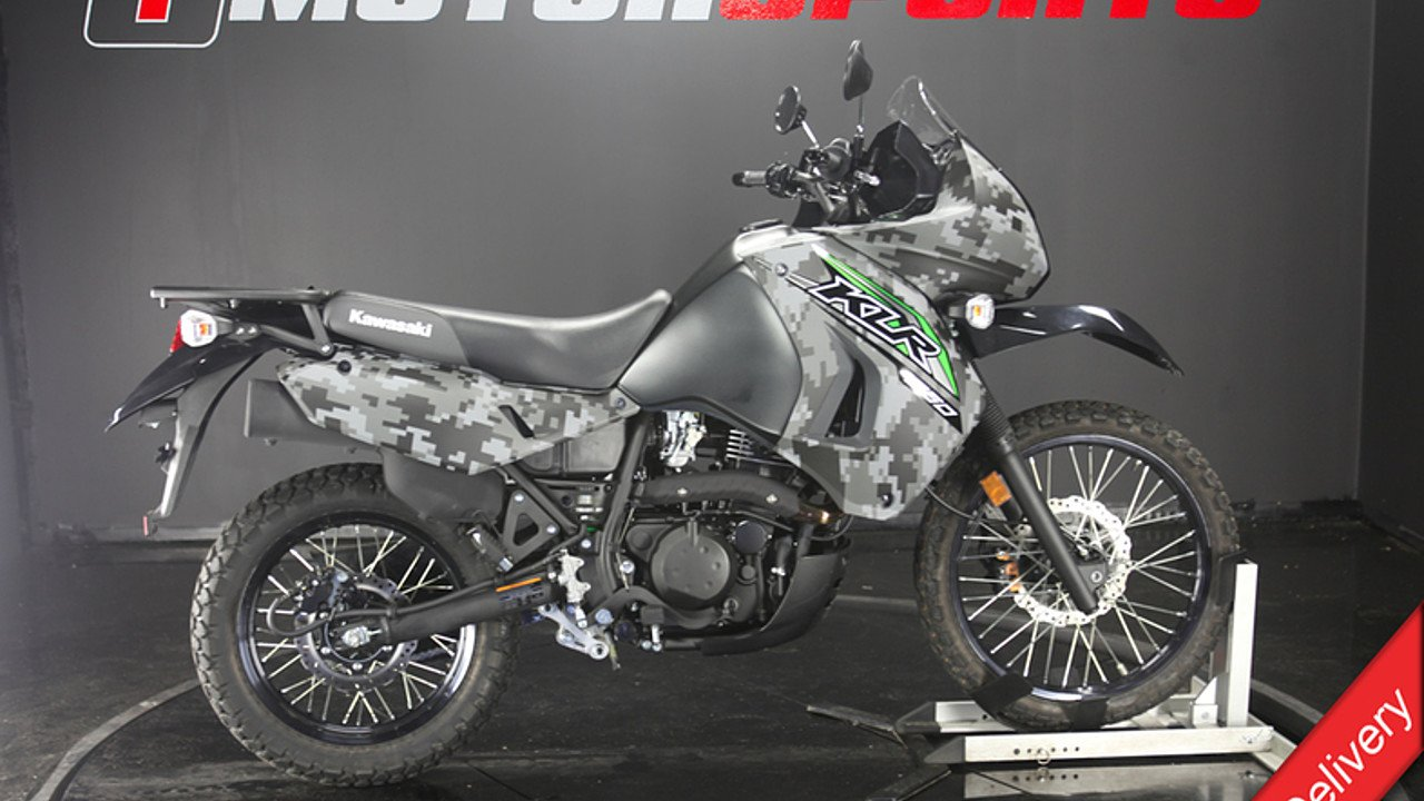 2018 Kawasaki KLR650 for sale 200609648