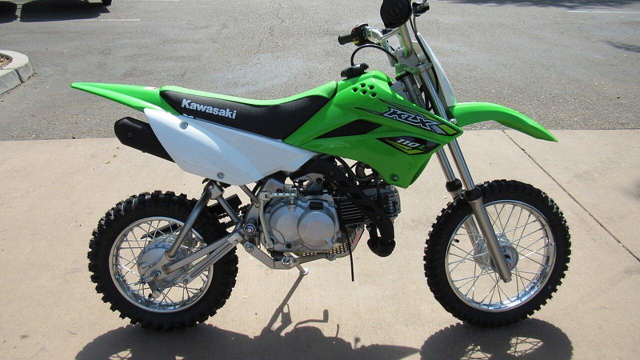 2018 Kawasaki KLX110 for sale 200498210
