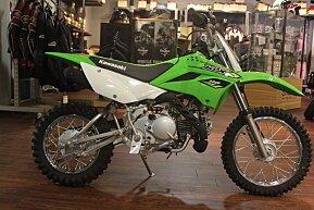 2018 Kawasaki KLX110 for sale 200480807