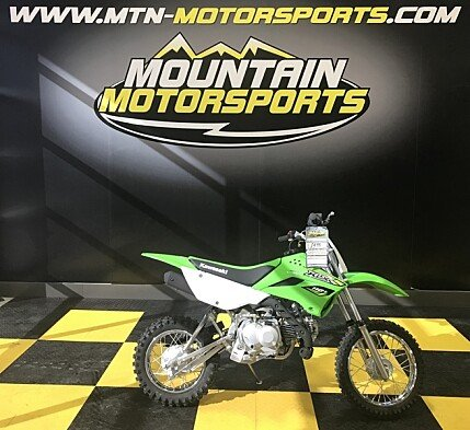 2018 Kawasaki KLX110 for sale 200537038