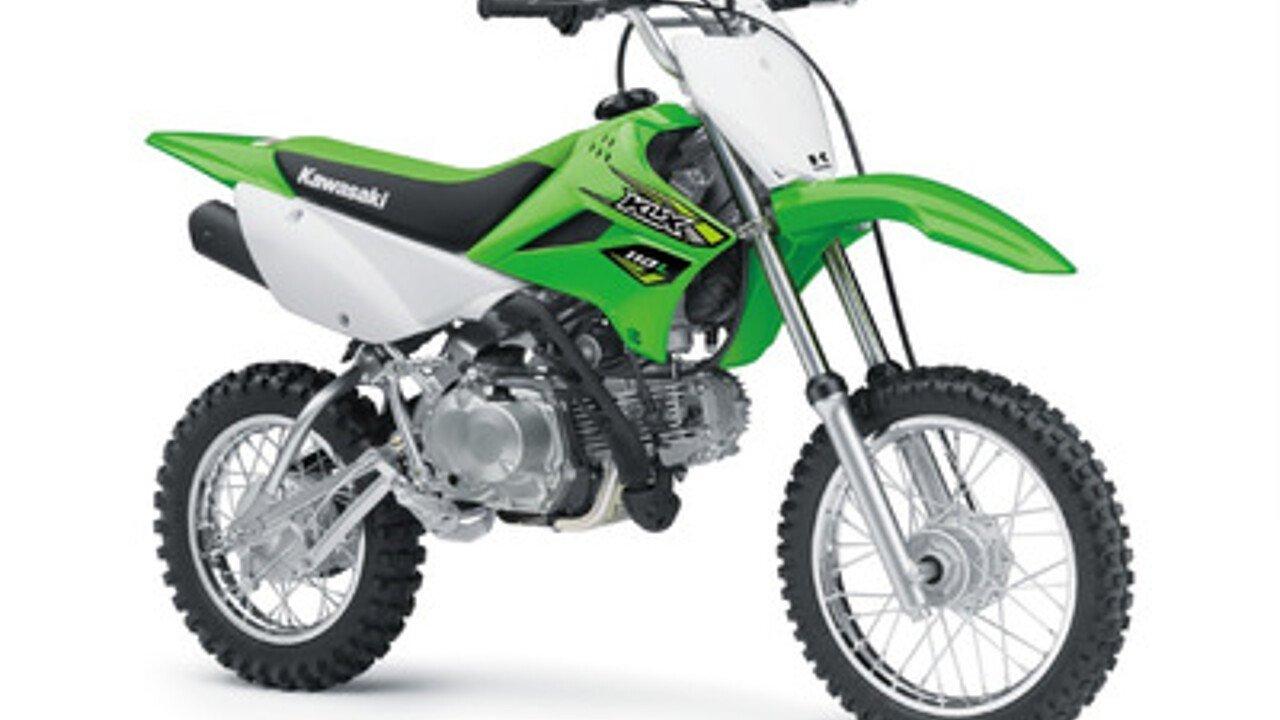 2018 Kawasaki KLX110L for sale 200518033