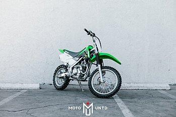 2018 Kawasaki KLX140 for sale 200502462