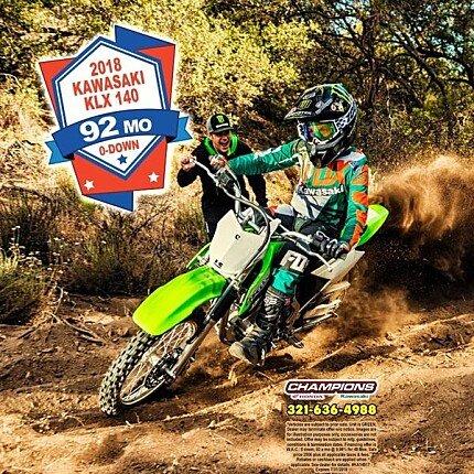 2018 Kawasaki KLX140 for sale 200571236