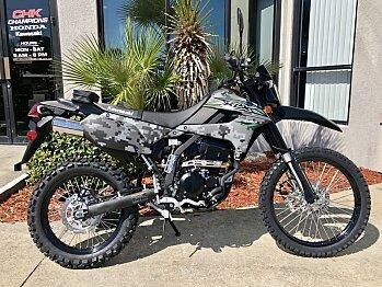 2018 Kawasaki KLX250 for sale 200571049