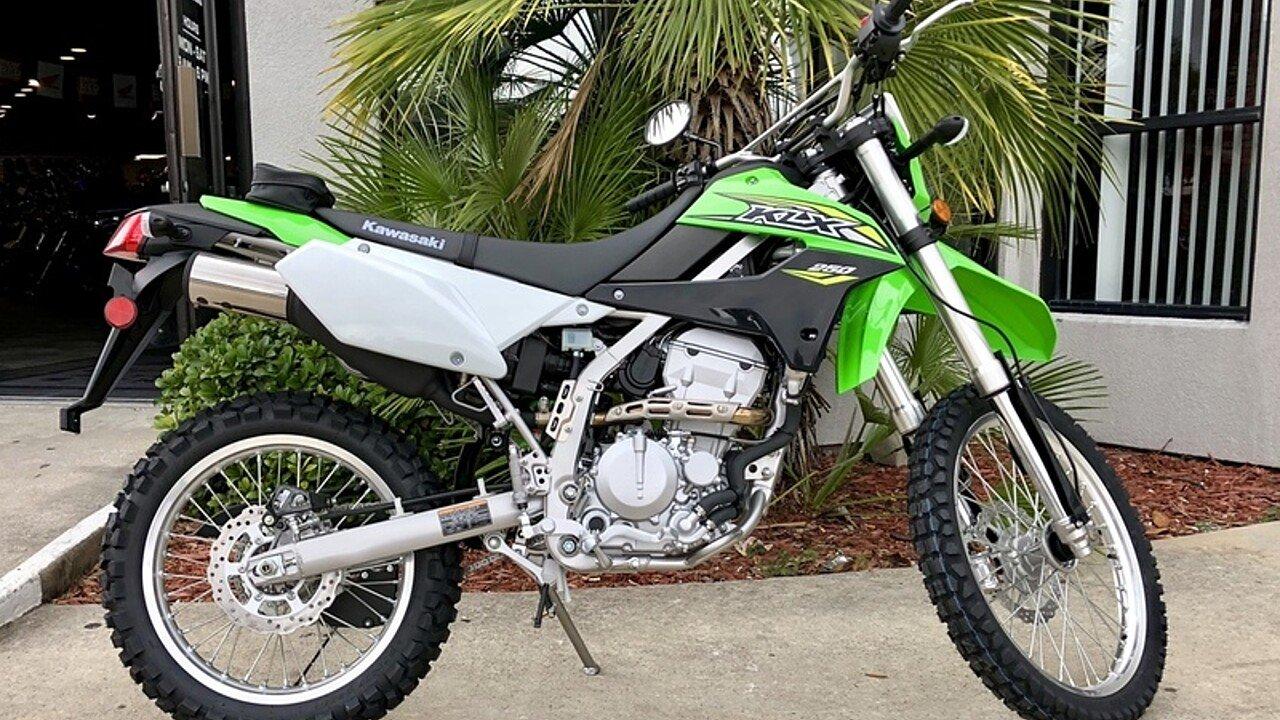 2018 Kawasaki KLX250 for sale 200571227