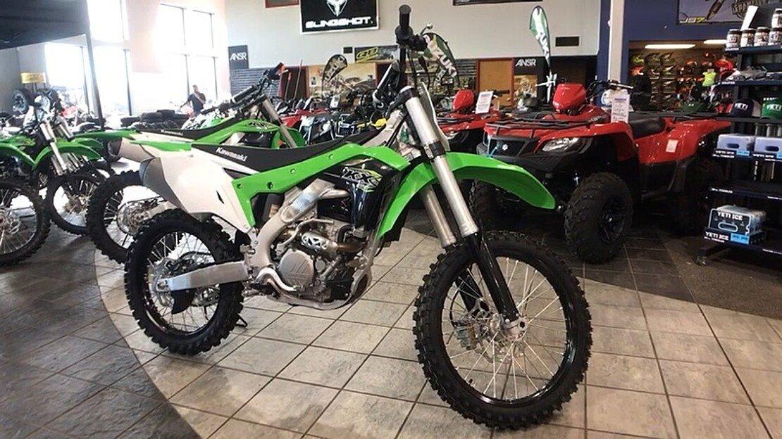 2018 Kawasaki KX250F for sale 200503888