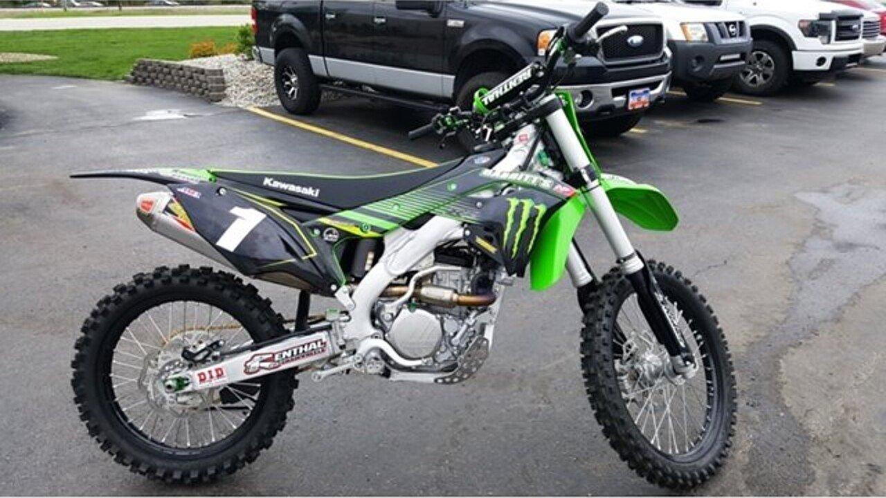 2018 Kawasaki KX250F for sale 200619212