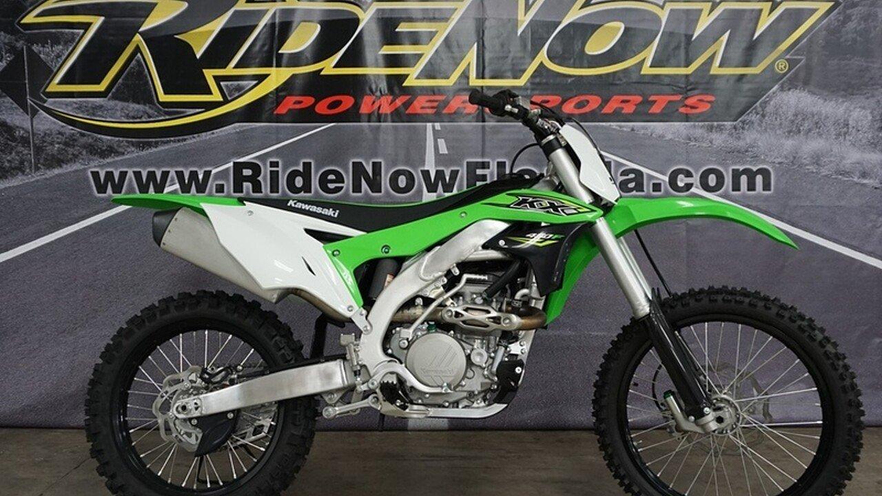 2018 Kawasaki KX450F for sale 200569983