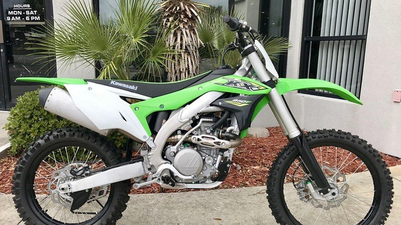 2018 Kawasaki KX450F for sale 200571034