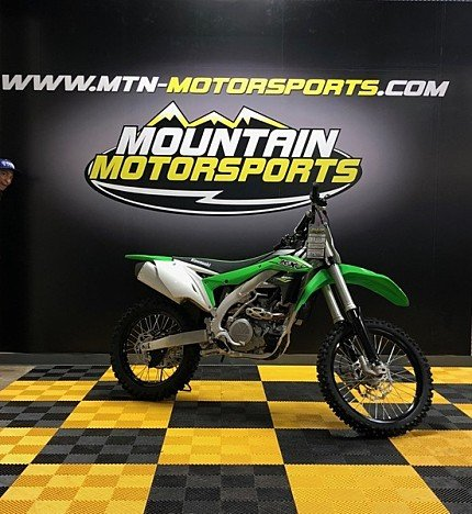 2018 Kawasaki KX450F for sale 200537748