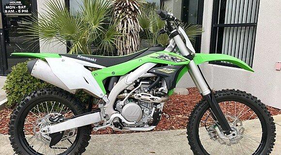 2018 Kawasaki KX450F for sale 200571208
