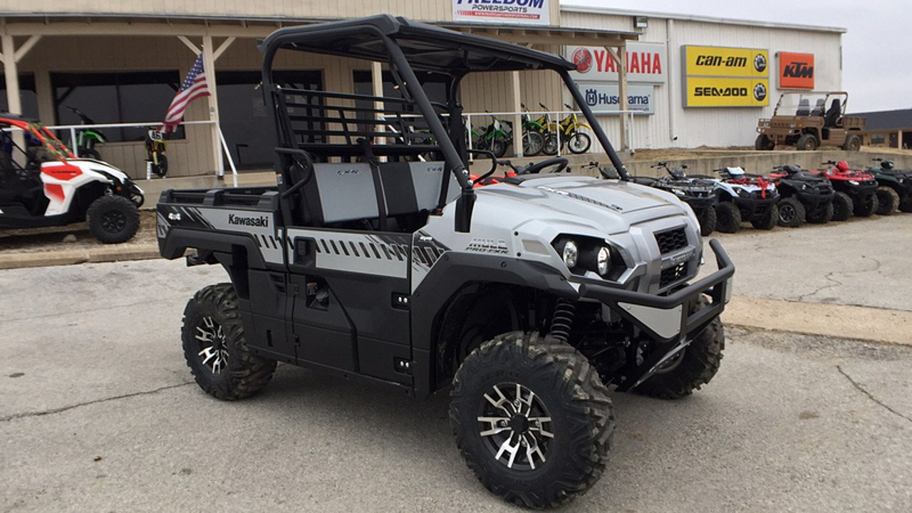 2018 Kawasaki Mule PRO-FXR for sale 200515810