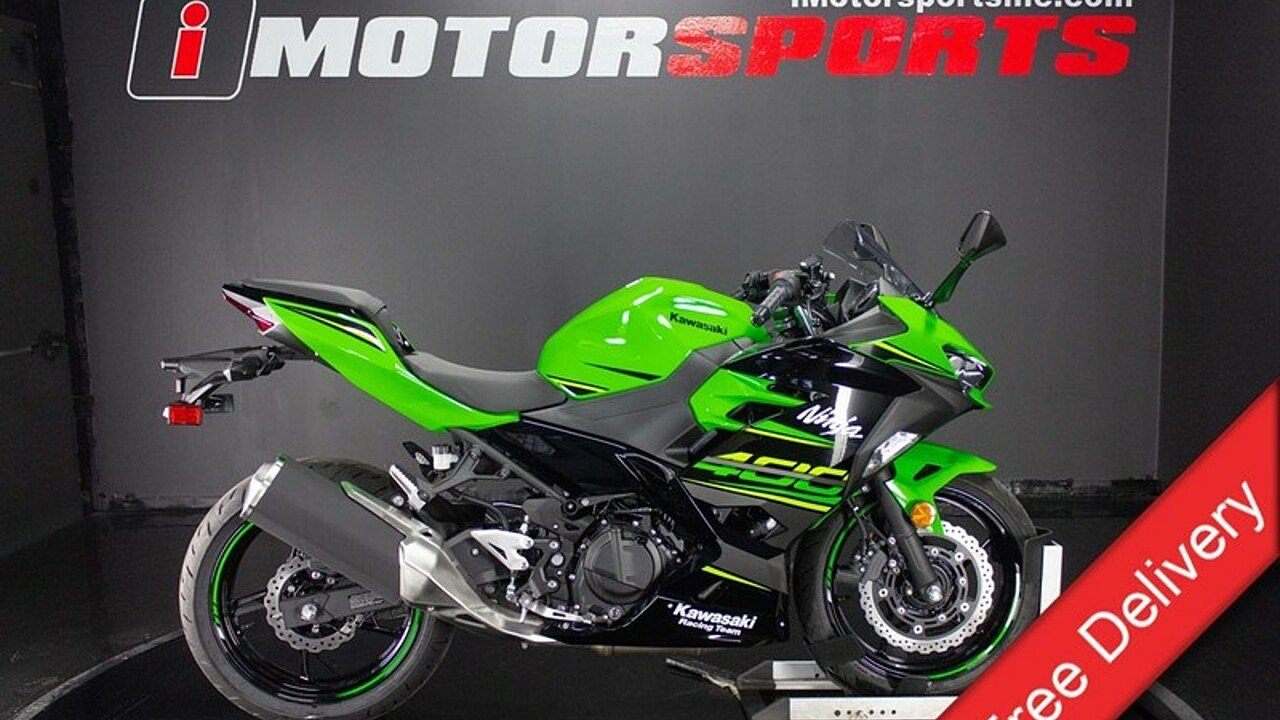 2018 Kawasaki Ninja 400 for sale 200552716
